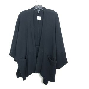Eileen Fisher new with tags cardigan black size M